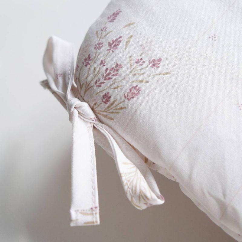 Tour de lit Madeleine poudre Maison Charlotte