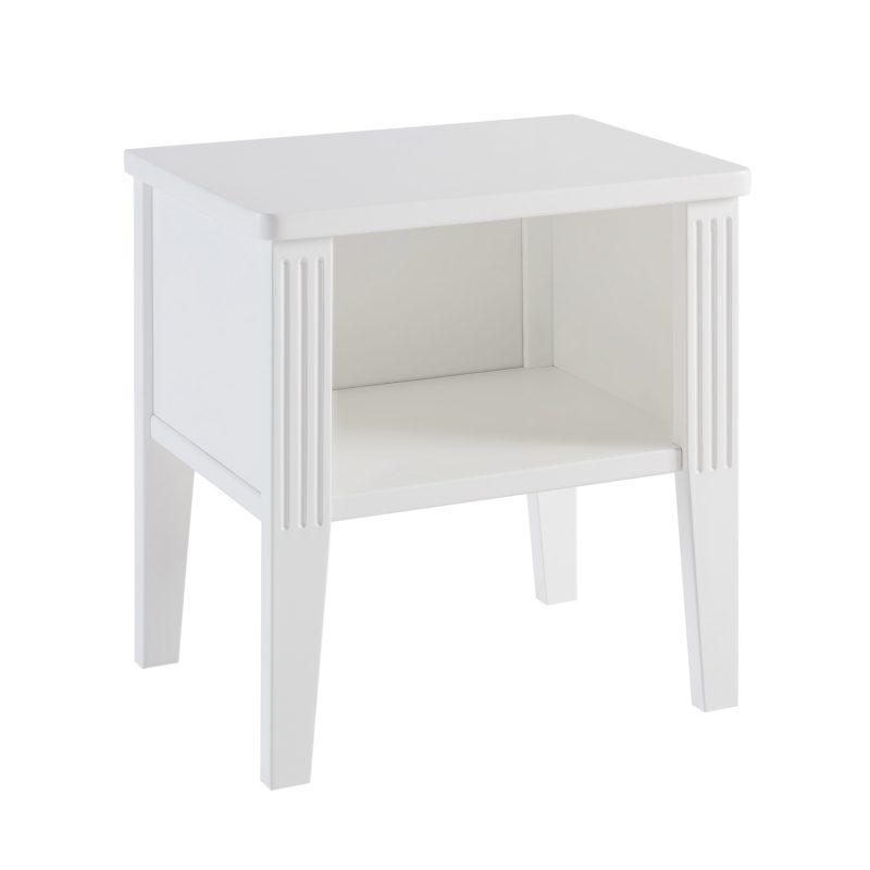 Table de chevet Opéra Blanc Maison Charlotte