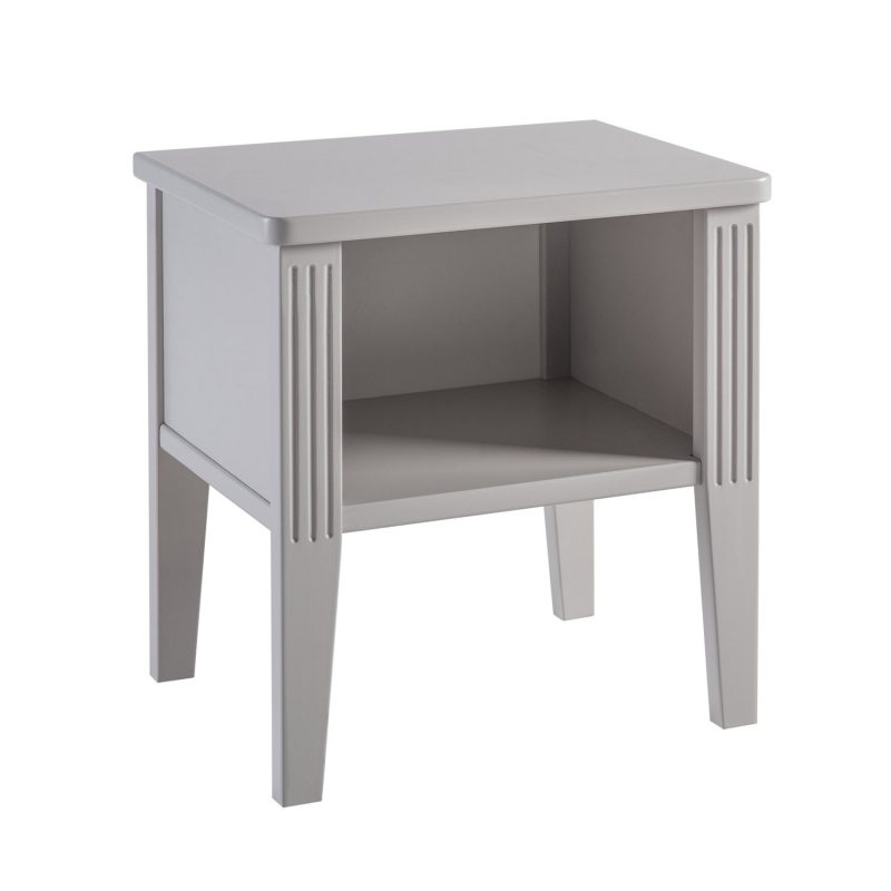 Table de chevet Opéra Gris Maison Charlotte