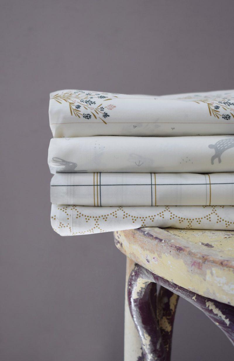 Collection parures de lit pour bébé 100x140cm Maison Charlotte