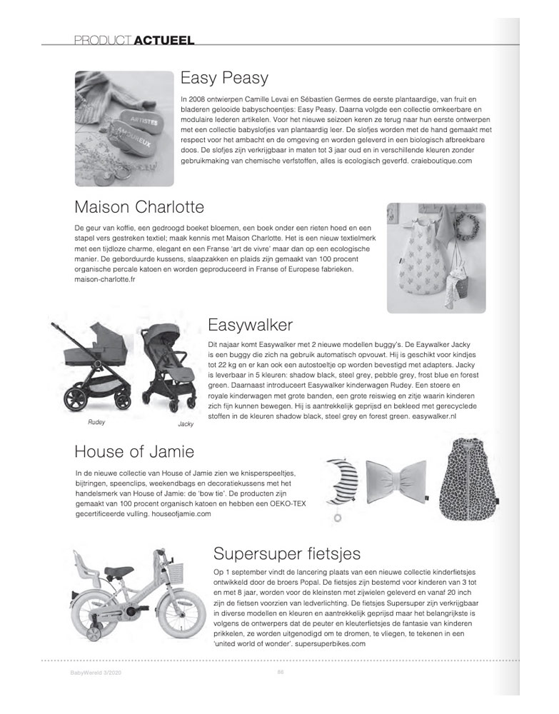 Baby Wereld Septembre 2020