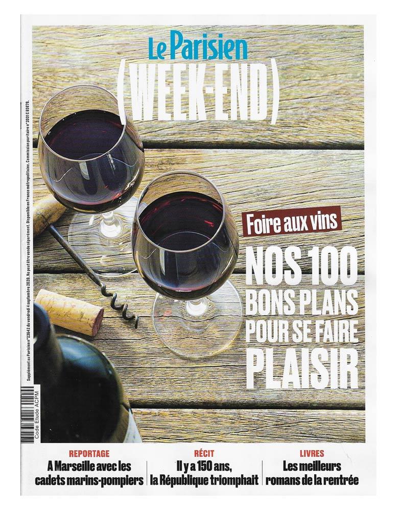 Le Parisien Weekend Septembre 2020
