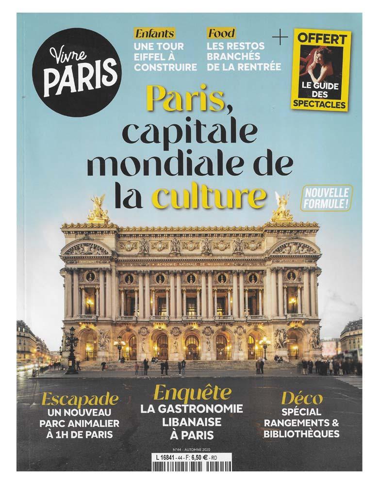 Vivre Paris Automne 2020