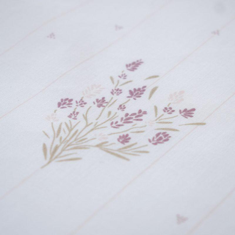 Zoom motif madeleine poudre Maison Charlotte