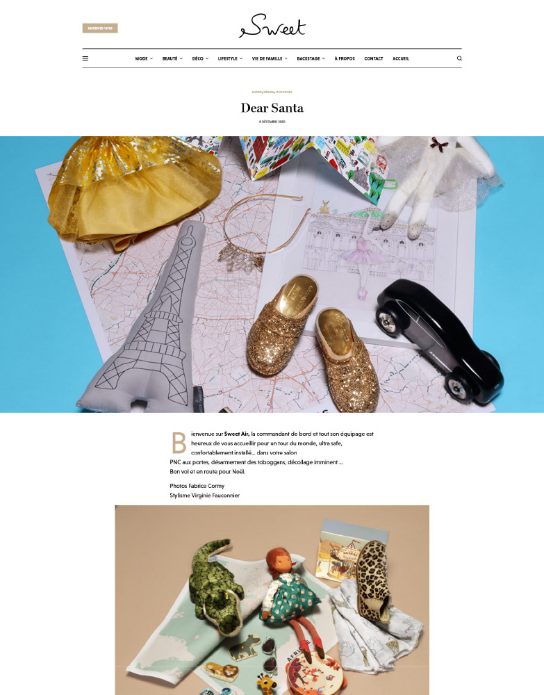 Sweet magazine Décembre 2020