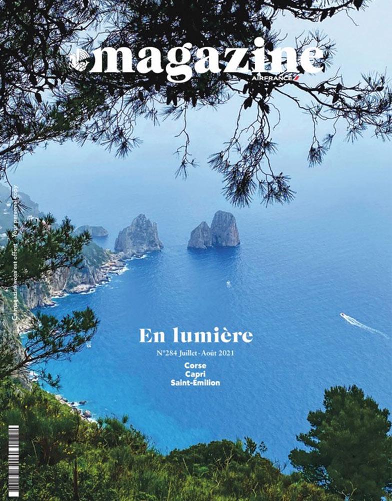 Magazine Air France Juillet Août 2021