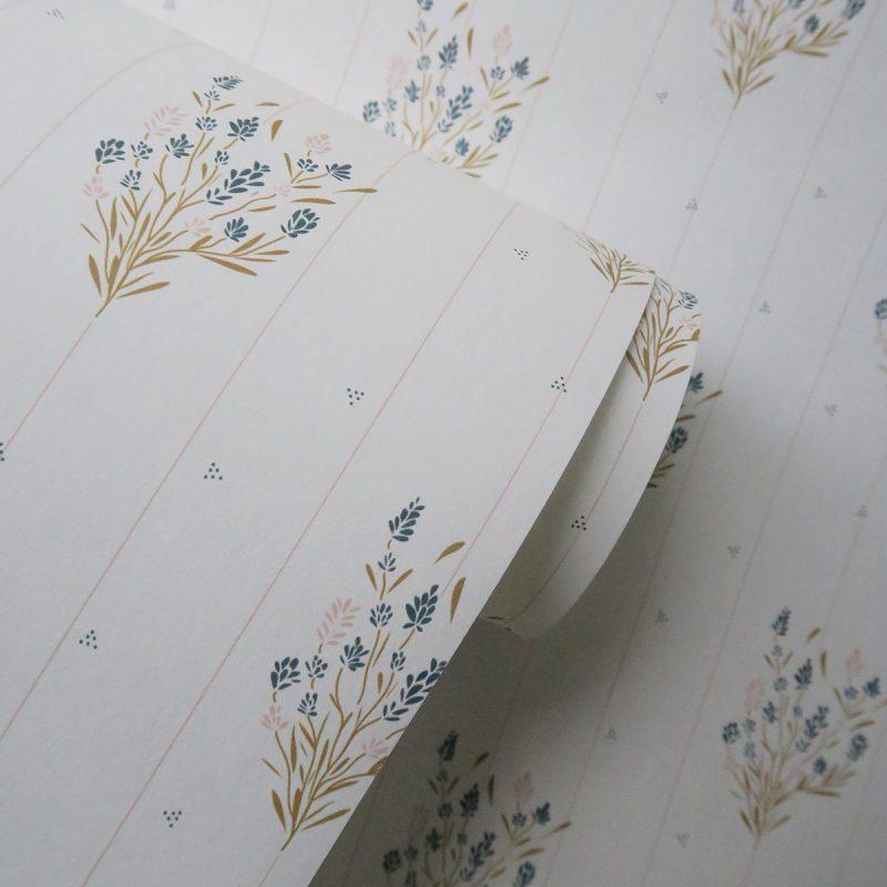 Papier peint Madeleine Maison Charlotte