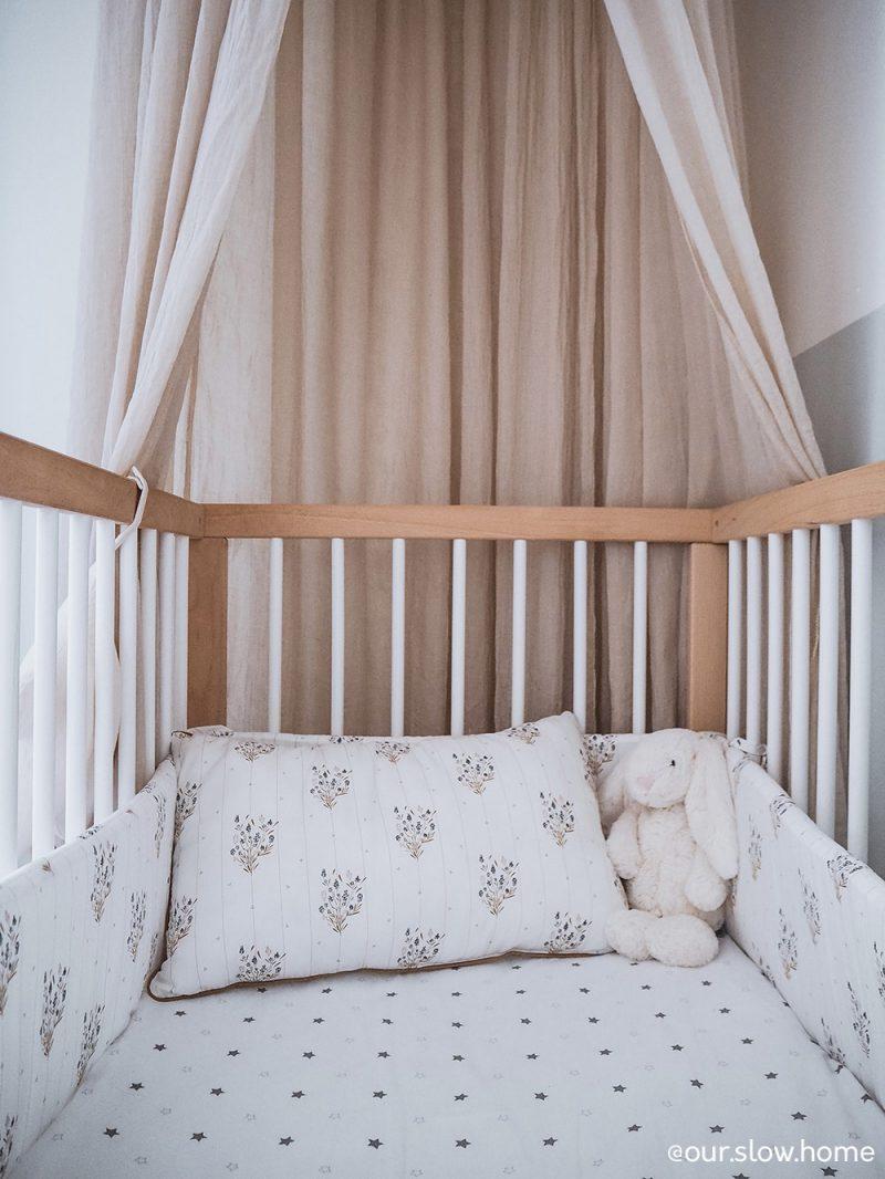 Tour de lit et coussin Madeleine Maison Charlotte